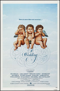 "A Wedding and Others Lot (20th Century Fox, 1978). One Sheets (3) (27"" X 41""). Comedy. ... (Total: 3 Items)"