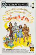 "Movie Posters:Fantasy, The Wizard of Oz & Other Lot (MGM, R-1972). One Sheets (2) (27""X 41""). Fantasy.. ... (Total: 2 Items)"