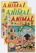 Golden Age (1938-1955):Funny Animal, Animal Fables #2-7 Group (EC, 1946-47) Condition: Average GD/VG....(Total: 6 Comic Books)