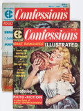 Silver Age (1956-1969):Romance, Confessions Illustrated #1 and 2 Group (EC, 1956).... (Total: 2Comic Books)