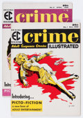 Golden Age (1938-1955):Horror, Crime Illustrated #1 and 2 Group (EC, 1955-56).... (Total: 2 ComicBooks)