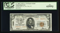 National Bank Notes:New York, New York, NY - $5 1929 Ty. 2 Sterling NB & TC Ch. # 13295. ...