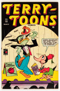 Golden Age (1938-1955):Funny Animal, Terry-Toons Comics #18 (Timely, 1944) Condition: QualifiedFN/VF....