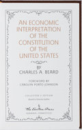 Books:Americana & American History, Charles A. Beard. An Economic Interpretation of the Constitutionof the United States. Easton Press, 1994. Publisher...