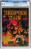 Golden Age (1938-1955):Horror, Terrifying Tales #13 (Star Publications, 1953) CGC VG+ 4.5 Cream tooff-white pages....
