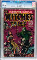 Golden Age (1938-1955):Horror, Witches Tales #8 (Harvey, 1952) CGC VG+ 4.5 Off-white to whitepages....