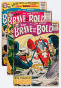 Golden Age (1938-1955):Miscellaneous, The Brave and the Bold Group (DC, 1955-59) Condition: Average FR.... (Total: 11 Comic Books)