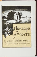Books:Literature 1900-up, John Steinbeck. The Grapes of Wrath. Easton Press, ca. 1968.Publisher's leather. Mild rubbing and bumping. Book...