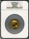 U.S. Presidents & Statesmen, 1949 Truman Inauguration Medal MS61 NGC. Bronze, 51mm....