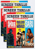 Magazines:Vintage, Screen Thrills Illustrated #8 Group (Warren, 1964) Condition: Average NM.... (Total: 3 Items)