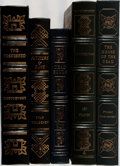 Books:Literature 1900-up, [Russian Literature]. Group of Five Volumes. Easton Press.Publisher's leather. Overall fine.... (Total: 5 Items)