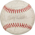 Baseball Collectibles:Balls, 1965 Pittsburgh Pirates Team Signed Baseball With Clemente. ...