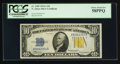 Small Size:World War II Emergency Notes, Fr. 2309 $10 1934A North Africa Silver Certificate. PCGS Choice About New 58PPQ.. ...