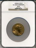 Assay Medals, 1940 U.S. Assay Medal, Bronze MS64 NGC. JK-AC-85. The originalpresentation case is included and has a black exterior and a ...