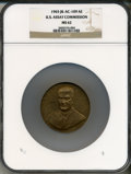 Assay Medals, 1965 U.S. Assay Medal, Bronze MS62 NGC. JK-AC-109....