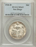 Commemorative Silver: , 1936-D 50C San Diego MS65 PCGS. PCGS Population (4011/840). NGCCensus: (1459/481). Mintage: 30,092. Numismedia Wsl. Price ...