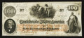 Confederate Notes:1862 Issues, T41 $100 1862 PF-22 Cr. 320A. ...