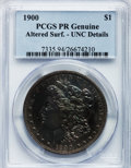 Proof Morgan Dollars, 1900 $1 -- Altered Surfaces -- PCGS Genuine. Proof, Unc.Details....