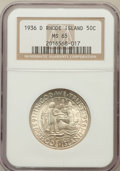 Commemorative Silver: , 1936-D 50C Rhode Island MS65 NGC. NGC Census: (757/282). PCGSPopulation (894/503). Mintage: 15,010. Numismedia Wsl. Price ...
