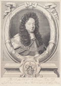 Fine Art - Work on Paper:Print, PAIR OF ENGLISH PRINTS: ALEXANDER DENTON ESQ. ONE OF THE JUSTICES OF THE COURT OF COMMON PLEAS ANDSIR GEORGE TREBY KNIGHT, LOR... (Total: 2 Items)