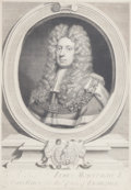 Fine Art - Work on Paper:Print, SIR GODFREY KNELLER (British, 1646-1723). Sir James Montague, Lord Chief Baron of His Majesty's Court of Exchequer. Engr...