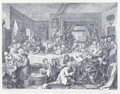 Fine Art - Work on Paper:Print, WILLIAM HOGARTH (British, 1697-1764). An Election Entertainment, 1755. Engraving. 20 x 22 inches (50.8 x 55.9 cm). The...
