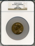 Assay Medals, 1922 U.S. Assay Medal, Bronze MS63 NGC. JK-AC-66....
