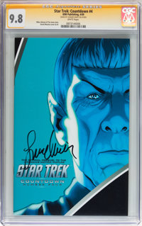 Star Trek: Countdown #4 Signed by Leonard Nimoy (IDW Publishing, 2009) CGC Signature Series NM/MT 9.8 White pages