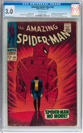 Silver Age (1956-1969):Superhero, The Amazing Spider-Man #50 (Marvel, 1967) CGC GD/VG 3.0 Off-white pages....