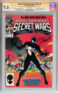 Modern Age (1980-Present):Superhero, Marvel Super Heroes Secret Wars #8 Signed by Jim Shooter and Others(Marvel, 1984) CGC Signature Series NM+ 9.6 White pages....