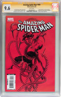 Modern Age (1980-Present):Superhero, The Amazing Spider-Man #600 Signed by Stan Lee (Marvel, 2009) CGCSignature Series NM+ 9.6 White pages....
