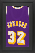 Basketball Collectibles:Others, Magic Johnson Signed Los Angeles Lakers Jersey....