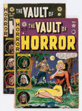 Golden Age (1938-1955):Horror, Vault of Horror #19 and 39 Group (EC, 1951-54) Condition: AverageGD/VG.... (Total: 2 Comic Books)