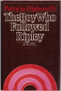 Books:Mystery & Detective Fiction, Patricia Highsmith. SIGNED/REVIEW COPY. The Boy Who FollowedRipley. Lippincott/Crowell, 1980. First edition, fi...