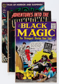 Golden Age (1938-1955):Horror, Golden Age Group Horror Group (Various Publishers, 1950s)....(Total: 4 Comic Books)