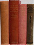 Books:Biography & Memoir, [Military Related Memoirs and Fiction]. Group of Four Books.Various, 1897-1931. Minor rubbing and toning to cloth bindings....(Total: 4 Items)