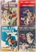 Books:Children's Books, Fran Striker. Group of Four Lone Ranger Books. Grosset &Dunlap, 1936-1940. Good or better condition.... (Total: 4 Items)