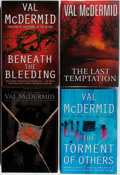 Books:Mystery & Detective Fiction, Val McDermid. Group of Four First Edition, First Printing Books,Three Signed or Inscribed. Various, 1996-2007. Beneath th...(Total: 4 Items)