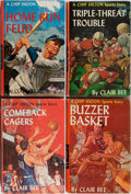 Books:Children's Books, Clair Bee. Group of Four Chip Hilton Books. Grosset &Dunlap, 1960-1964. Decorated boards. Overall very good.... (Total:4 Items)