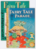 Golden Age (1938-1955):Miscellaneous, Four Color #50 and 114 Fairy Tale Parade Group (Dell, 1944-46).... (Total: 2 Comic Books)