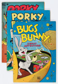 Golden Age (1938-1955):Cartoon Character, Four Color Bugs Bunny/Porky Pig Group (Dell, 1945-53) Condition:Average VG+.... (Total: 15 Comic Books)