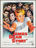 """Movie Posters:Documentary, The James Dean Story (Rene Chateau, R-1980). French Petite (15.75"""" X 21.25""""). Documentary.. ..."""