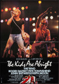 "Movie Posters:Rock and Roll, The Kids Are Alright (Neue Constantin Films, 1979). German A1 (23""X 33""). Rock and Roll.. ..."