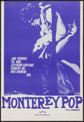 "Movie Posters:Rock and Roll, Monterey Pop (Good Time Movies, 1970). German A2 (16.5"" X 23.5"").Rock and Roll.. ..."