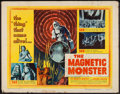 "Movie Posters:Science Fiction, The Magnetic Monster (United Artists, 1953). Half Sheet (22"" X 28"") Style B. Science Fiction.. ..."