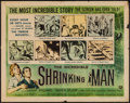 "Movie Posters:Science Fiction, The Incredible Shrinking Man (Universal International, 1957). HalfSheet (22"" X 28"") Style A. Science Fiction.. ..."