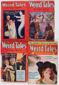 Pulps:Horror, Weird Tales Group (Popular Fiction, 1927-31).... (Total: 4 Items)
