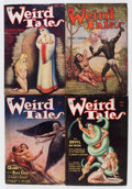 Pulps:Horror, Weird Tales Conan Group (Popular Fiction, 1934) Condition: Average GD/VG.... (Total: 5 Items)