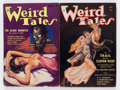 Pulps:Horror, Weird Tales H. P. Lovecraft Group (Popular Fiction, 1934)Condition: Average VG-.... (Total: 2 Items)
