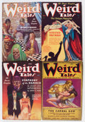 Pulps:Horror, Weird Tales Group (Popular Fiction, 1937) Condition: Average VG....(Total: 8 Items)